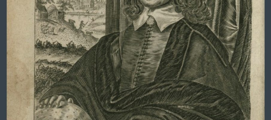 William Lilly's History of His Life & Times - a portrait of William Lilly